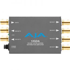 12GDA 12G/6G/3G/HD/SD-SDI Distribution Amplifier