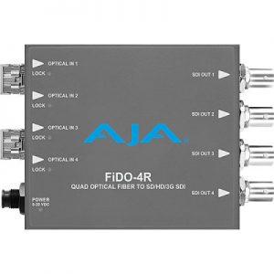 FiDO-4R 4-Channel Single-Mode LC Fiber to 3G-SDI Receiver