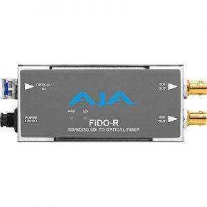 FiDO-R 1-Channel Single-Mode LC Fiber to 3G-SDI Receiver