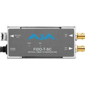 FiDO-T-SC 1-Channel 3G-SDI to Single-Mode SC Fiber Transmitter