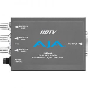 HD10AVA Analog Video and Audio to SD/HD-SDI