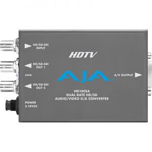 HD10CEA SD/HD-SDI to Analog Video/Audio Converter