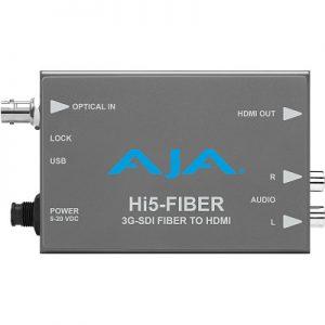 Hi5-Fiber HD/SD-SDI over Fiber to HDMI Mini-Converter