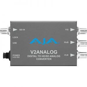 V2Analog HD/SD-SDI to Analog Mini-Converter