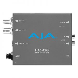 HA5-12G HDMI 2.0 to 12G-SDI Converter