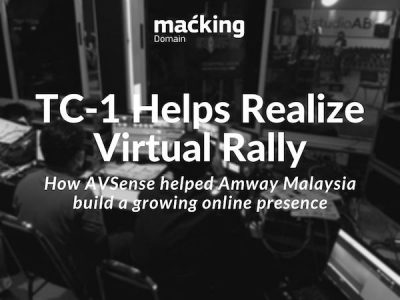 TriCaster TC-1 helps realize Virtual Rally