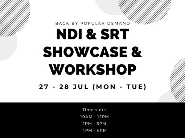 Macking Domain NDI & SRT Showcase