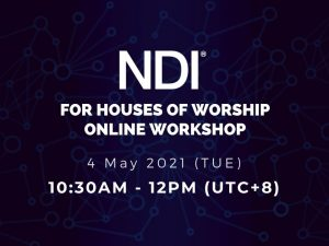 NDI for Houses Of Worship Workshop